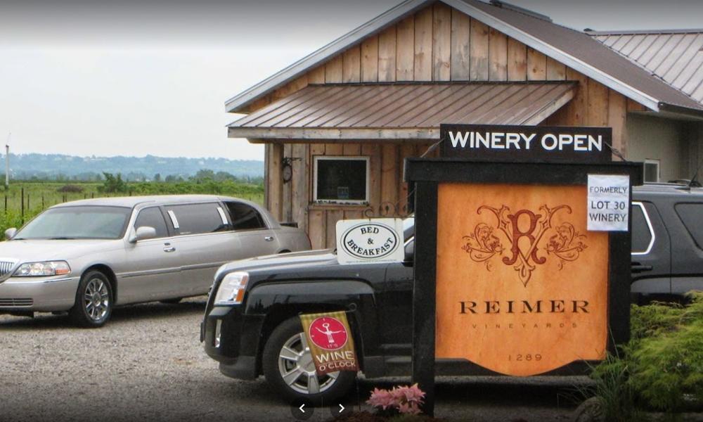 Reimer Vineyards Winery Niagara On The Lake Wineries