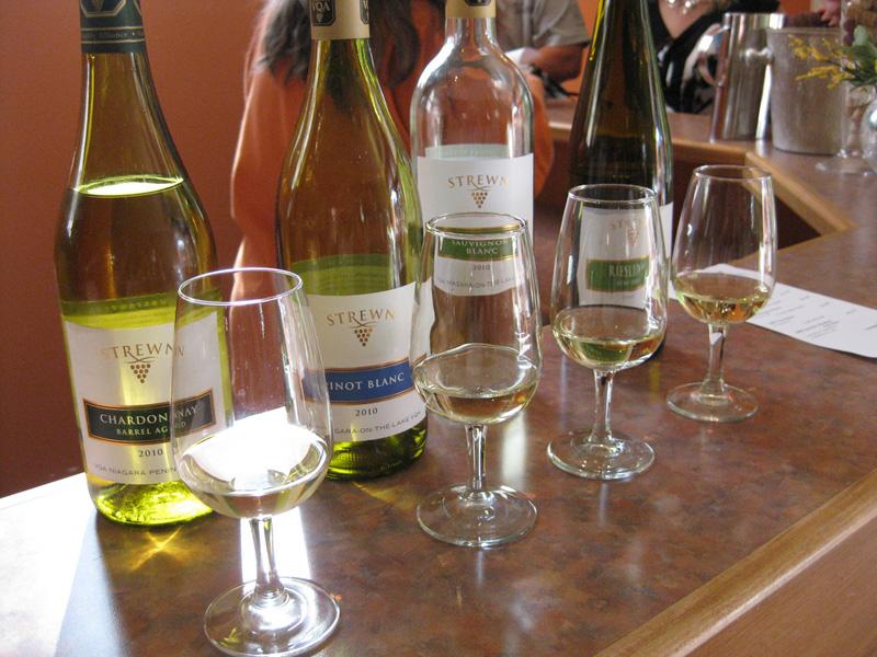 Strewn Winery Niagara On The Lake Wineries