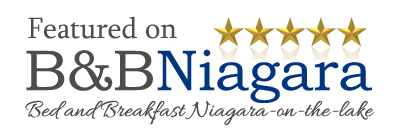 Bed and Breakfast Niagara Featured Logo