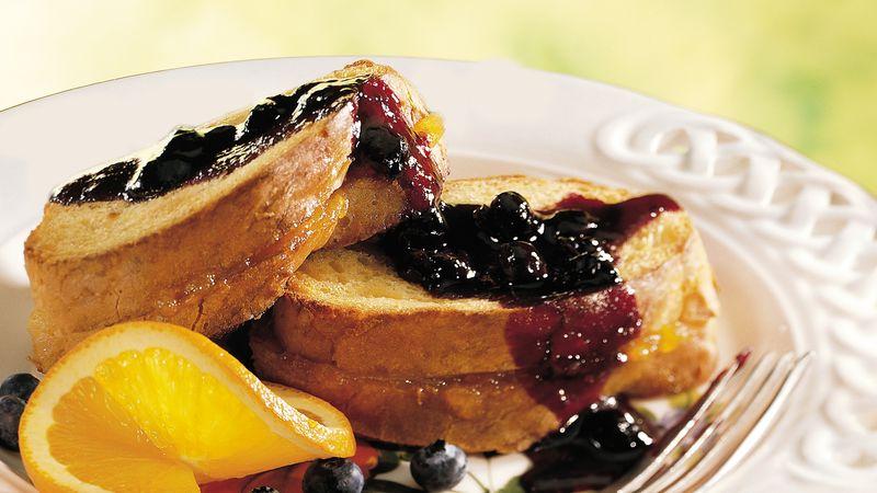 Blueberry Orange French Toast