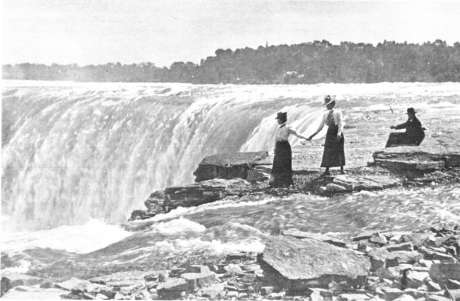 The first direct mention of the Falls