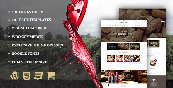 wordpress winery