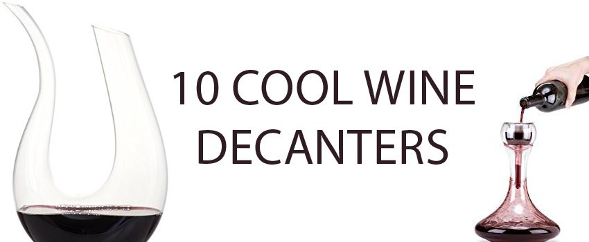 10 cool wine decanters