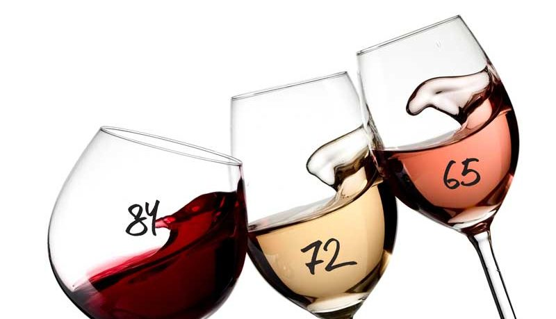rating wine