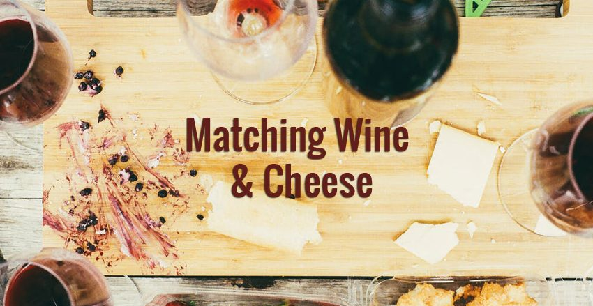 wine and cheese matching