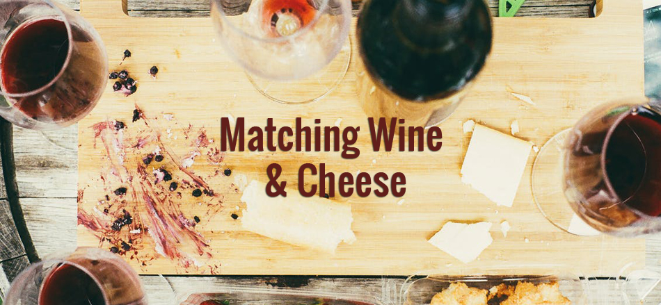 wine and cheese matching