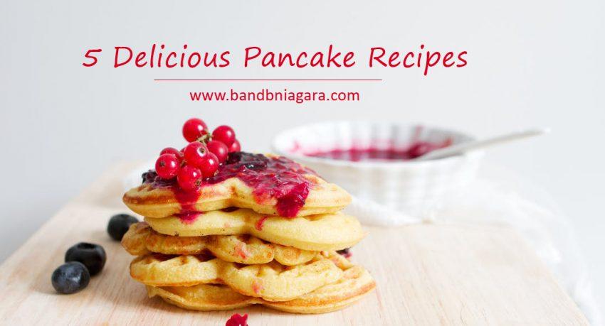5 delicious pancake recipes