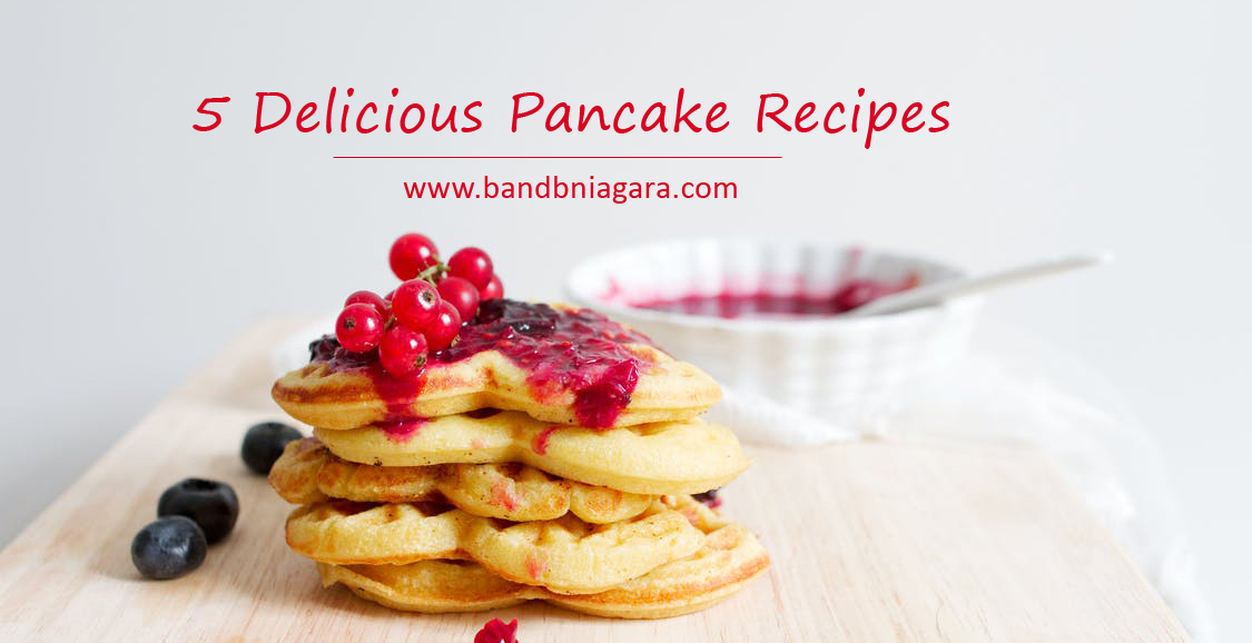 5 delicious pancake recipes