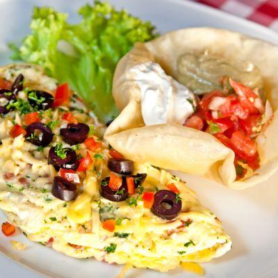 fiesta omelet recipe