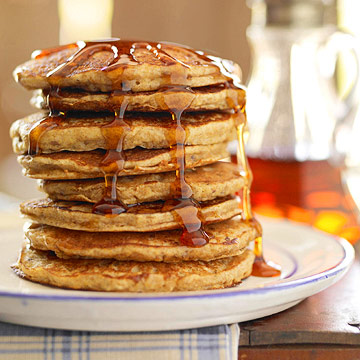 four grain pancakes