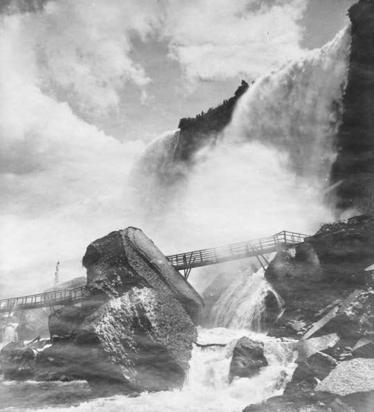 history of niagara falls