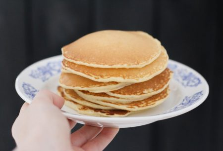 pancakes for bed and breakfast