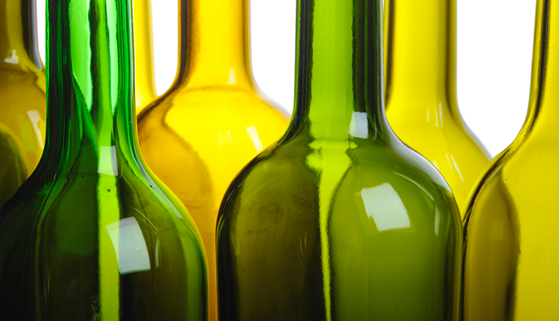 wine bottles for wine making