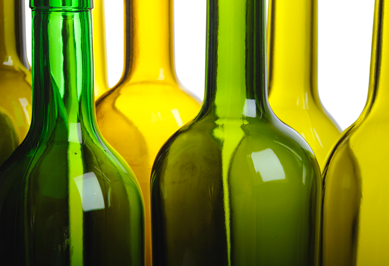 wine bottles for wine making