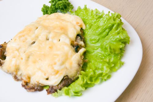 Beef Fillet Sauteed with Reblochon Cheese and Marrow (bone)
