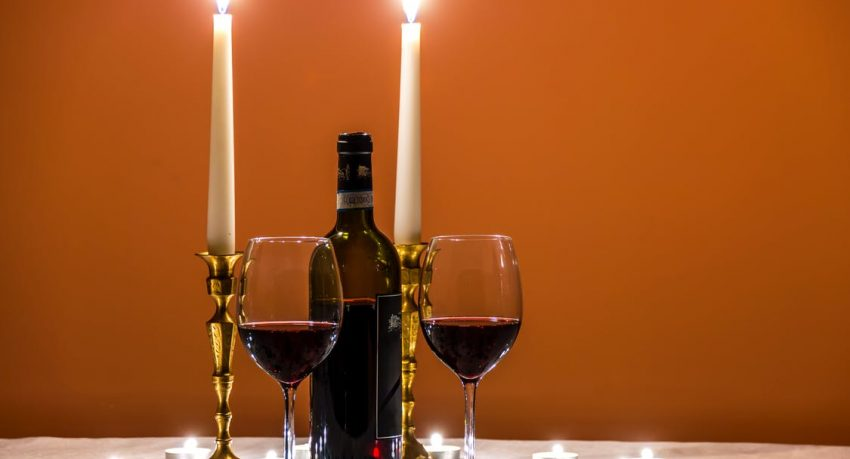 planning a romantic dinner