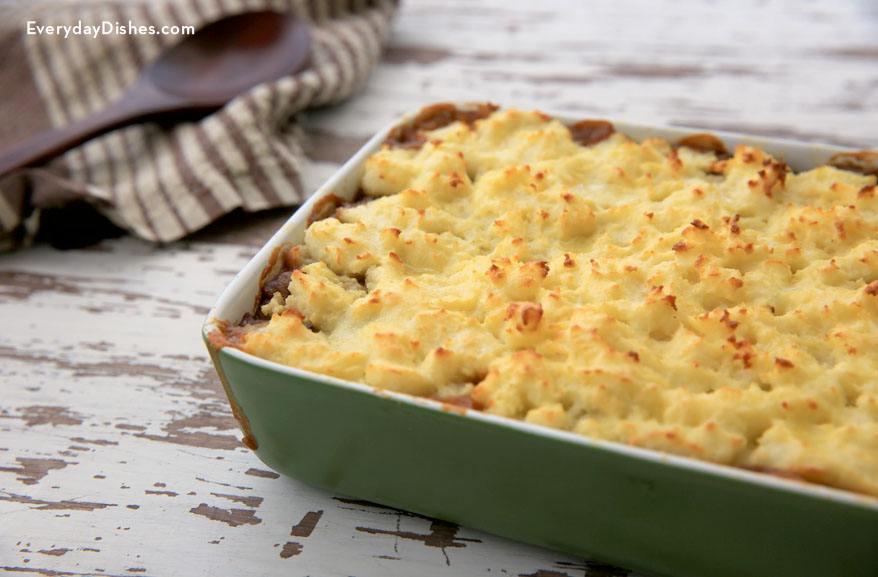Vegetarian Harvesters Pie