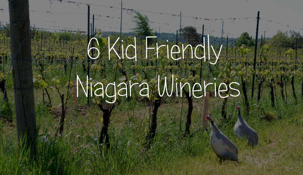 6 Kid Friendly Niagara Wineries